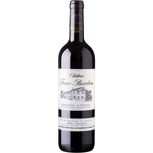 Vin Sophie-Guimberteau-Charles-Foray - 2014 - Chateau-Franc-Baudron - Franc-Baudron - Rouge - Merlot - AOP-Montagne-St-Emilion - Bordeaux - 33570 - Montagne