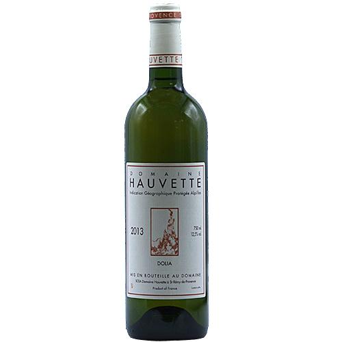 Vin Dominique-Hauvette - 2013 - Dolia - Blanc - Marsanne - IGP-Alpilles - Provence - 13210 - St-Remy-de-Provence