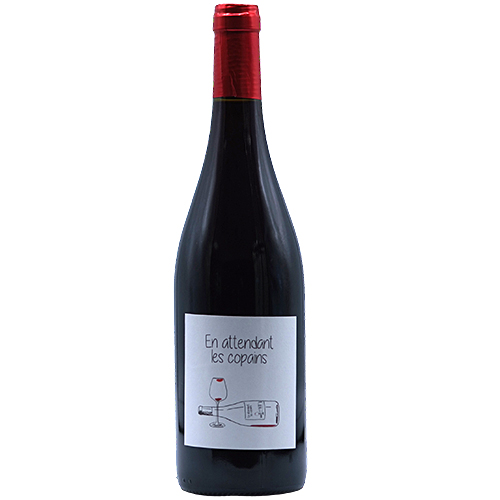Vin Lori-Haon - 2018 - Du-petit-Oratoire - En-attendant-les-copains - Rouge - Carignan - AOP-Cotes-du-Rhone - Rhone - 30210 - Valliguieres