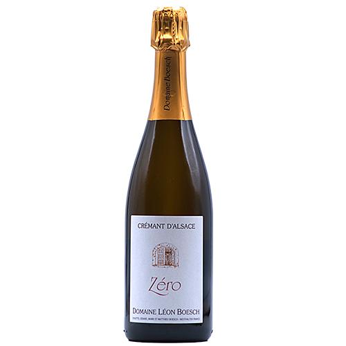 Vin Mathieu-et-Marie-Boesch - 2018 - Leon-Boesch - Zero - Bulles - Riesling - AOP-Cremant-Alsace - Alsace - 68250 - Westhalten