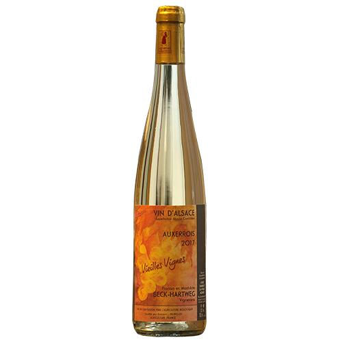 Vin Mathilde-et-Florian-Beck-Hartweg - 2017 - Vieilles-vignes - Blanc - Auxerrois - AOP-Alsace - Alsace - 67650 - Dambach-la-ville