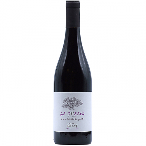 Vin Pierre-Boyat-2018-La-Cabane-Rouge-Pinot-noir-Bourgogne-71570-Leynes