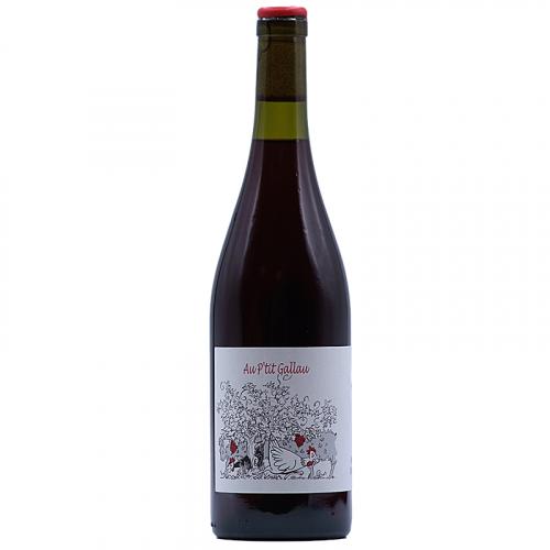 Vin Valerie-Godelu-2018-Les-trois-petiotes-Au-P'tit-Gallau-Rouge-Cabernet-Franc-Vin-de-france--Bordeaux-33710-Tauriac