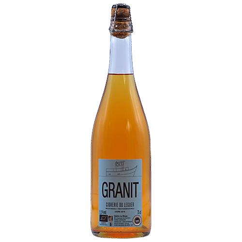 Vin Cedric-le-Bloas - 2018 - Ferme-Beg-Leguer - Granit - Bulles - Pomme - IGP-Cidre-de-Bretagne - Loire - 22300 - Lannion
