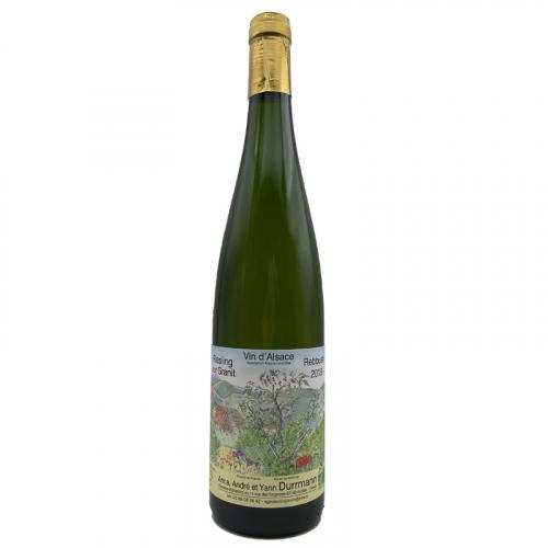 Vin Anne,-Andre-et-Yann-Durrmann - 2018 - Durrmann - Riesling-sur-Granit - Blanc - Riesling - AOC-Alsace - Alsace - 67140 - Andlau