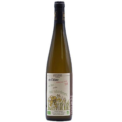 Vin Mathilde-et-Florian-Beck-Hartweg - 2018 - Tout-Naturellement - Blanc - Sylvaner - AOP-Alsace - Alsace - 67650 - Dambach-la-ville