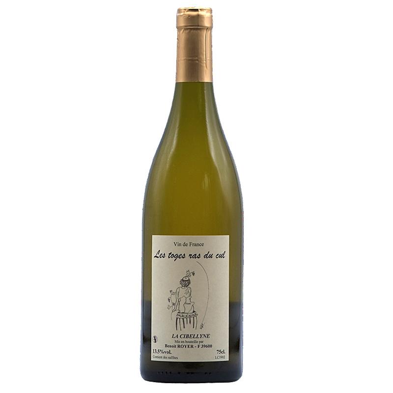 Vin Benoit-Royer - 2018 - Cibellyne - Toges-ras-du-cul - Blanc - Chardonnay - Vin-de-France - Jura - 39600 - Mesnay