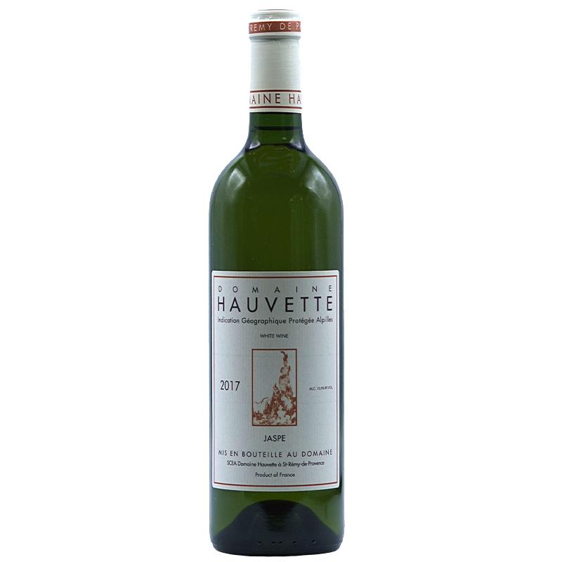 Vin Dominique-Hauvette - 2017 - Jaspe - Blanc - Roussanne - IGP-Alpilles - Provence - 13210 - St-Remy-de-Provence