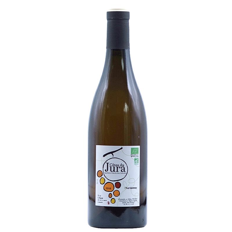 Vin Gilles-Wicky - 2018 - Chardonnay - Blanc - Chardonnay - AOP-Cote-du-Jura - Jura - 39747 - Saint-Agnes