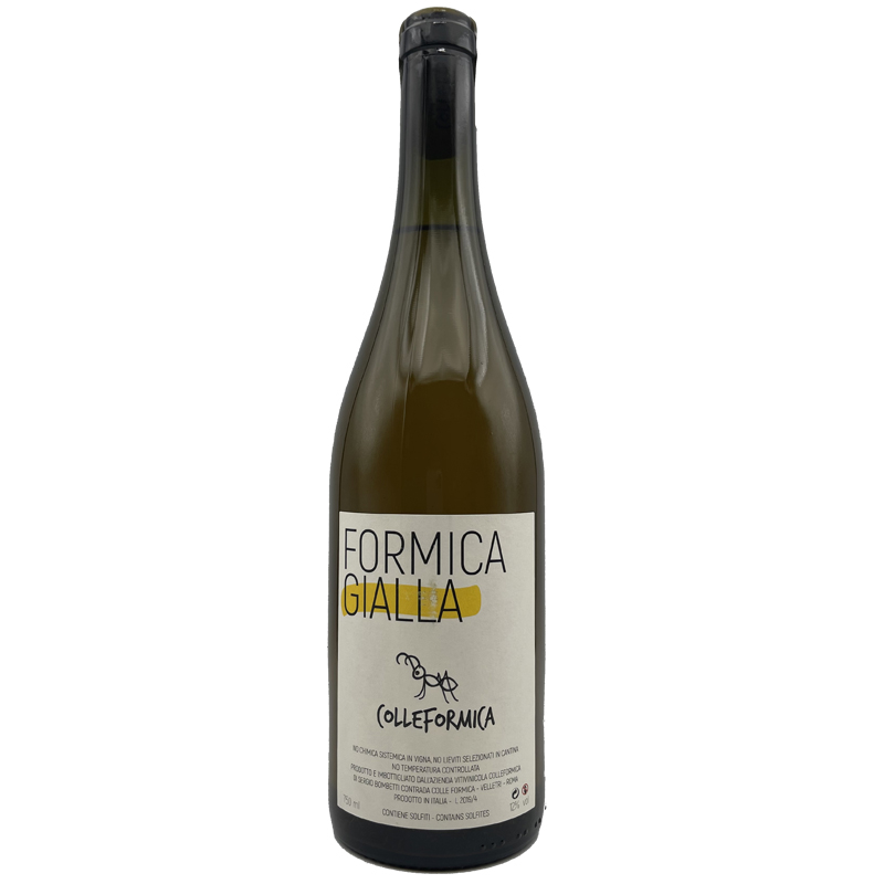Vin Sergio-Bombetti - 2019 - Colleformica - Formica-Gialla - Blanc - malvasia - Vino-da-tavola - Lazio - 00049 - Velltri