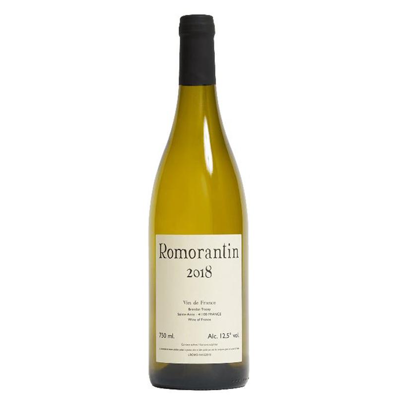 Vin Brendan-Tracey-2018-Romorantin-Blanc-Romorantin-Vin-de-France-Loire-41100-Sainte_Anne