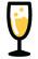 Verre de vin Champagne